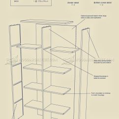 Corner Desk Chair Where To Buy Back Support For Cube Storage Unit Plans • Woodarchivist