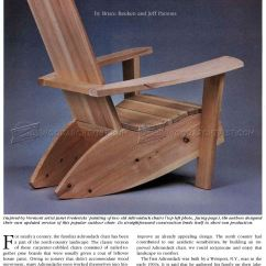 Outdoor Folding Rocking Chair Charles Pollock Build Adirondack Chairs • Woodarchivist