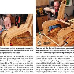 How To Build An Adirondack Chair Plastic Toddler Outdoor Slat Plans • Woodarchivist