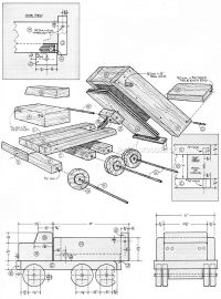 Wooden Dump Truck Plans  WoodArchivist