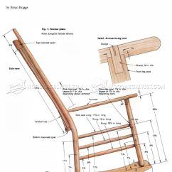 Building A Rocking Chair Velvet Dining Room Chairs Build Woodarchivist