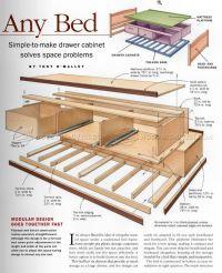 Under Bed Storage Plans  WoodArchivist