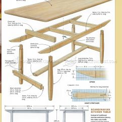 Build Kitchen Table Western Decor Woodarchivist