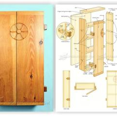 Outdoor Kitchen Construction Plans Cooking Sets Small Wall Cabinet • Woodarchivist