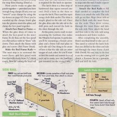 Plans To Build A Sofa Bed Buchannan Microfiber Brown Murphy • Woodarchivist