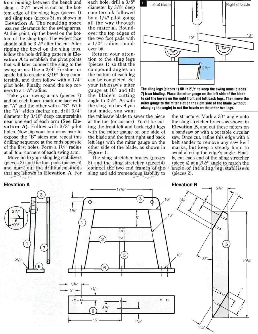 Porch Glider Plans • WoodArchivist