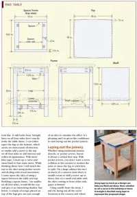 Build End Table  WoodArchivist