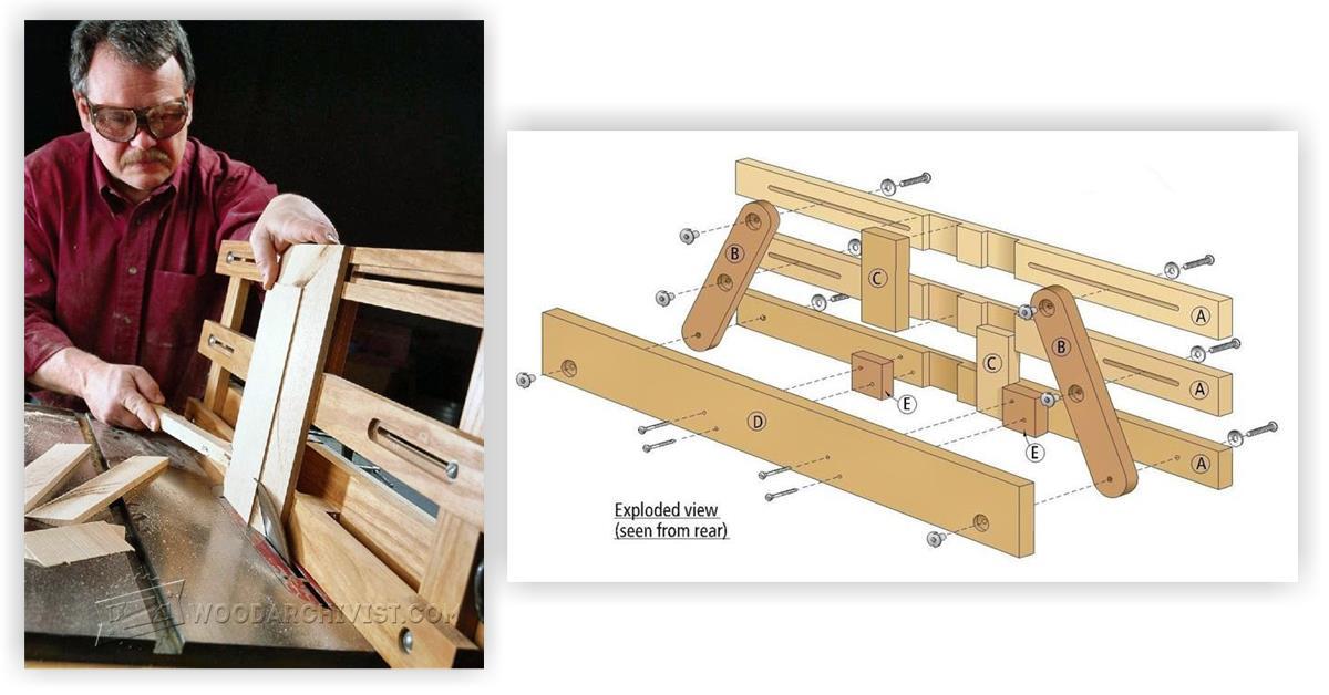 Raised Panel Table Saw Jig • WoodArchivist