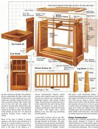 Wine Cabinet Plans | AndyBrauer.com