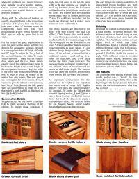 Wine Cabinet Plans  WoodArchivist