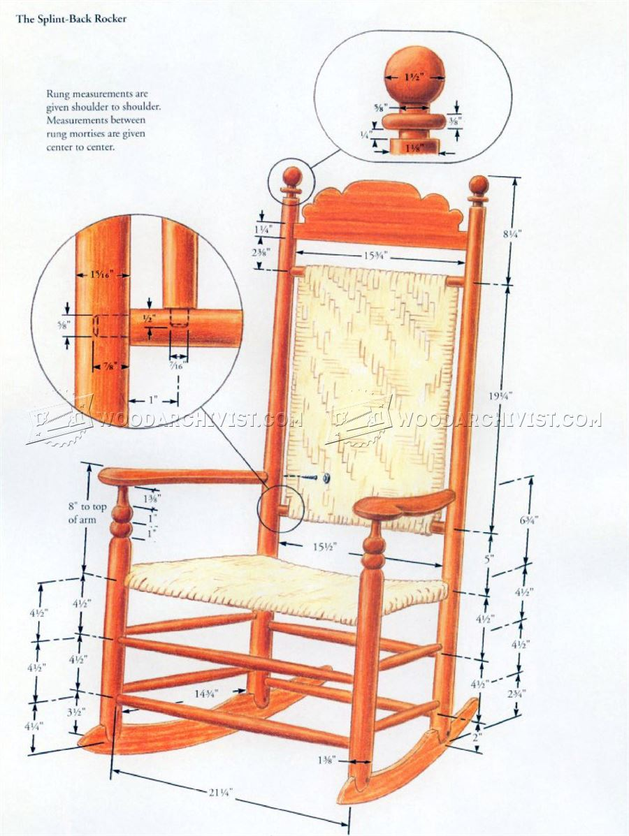 Free Rocking Chair Plans Book Of Rocking Chair Plans Woodworking In Ireland By Emma