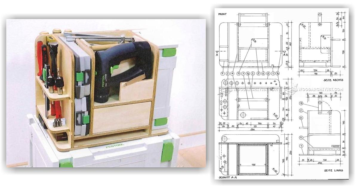 DIY Systainer Tool Caddy Insert  WoodArchivist