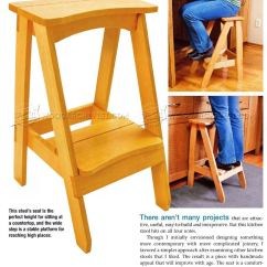 Kitchen Step Wall Mount Sink Amish Wooden Stools Folding Stool Design Ideas