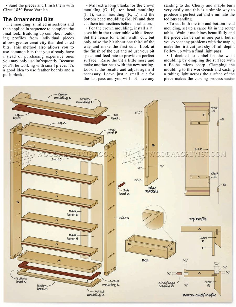 Hand Tool Rack Plans  WoodArchivist