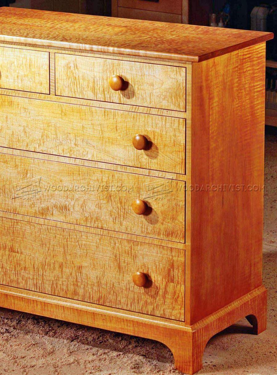 Shaker Dresser Plans  WoodArchivist