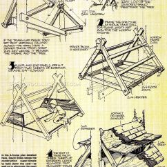 Plans For Adirondack Chair Cover Hire Canberra Build Treehouse • Woodarchivist