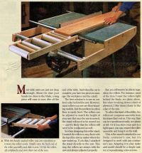Table Saw Outfeed Table Plans  WoodArchivist