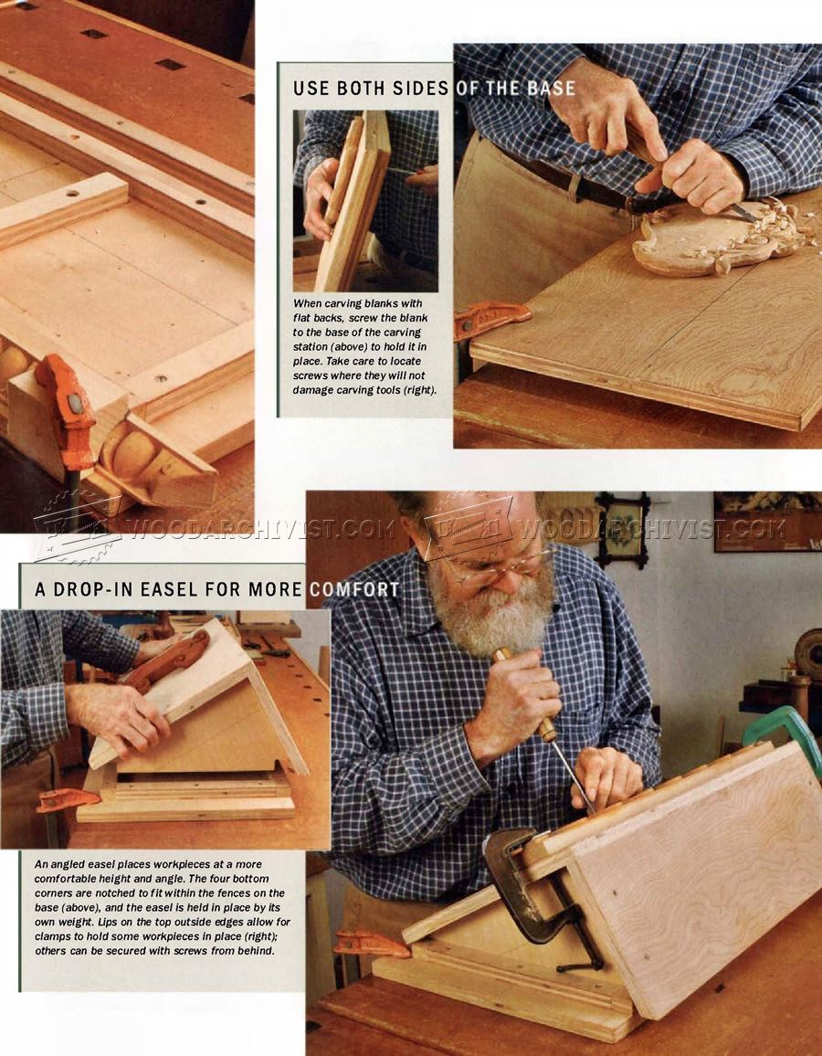 Portable Carving Station Woodarchivist