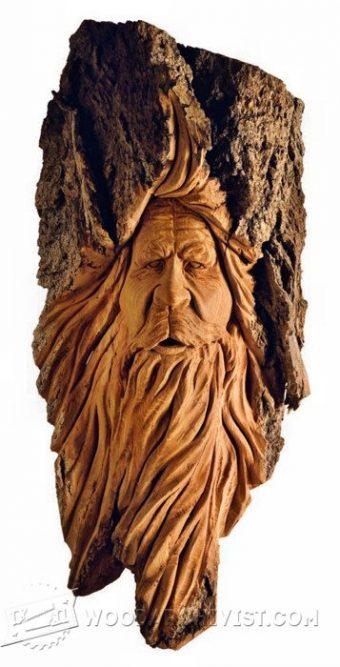 Carving Wood Spirits  WoodArchivist