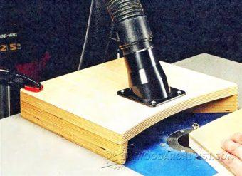 Rousseau Router Table 3550