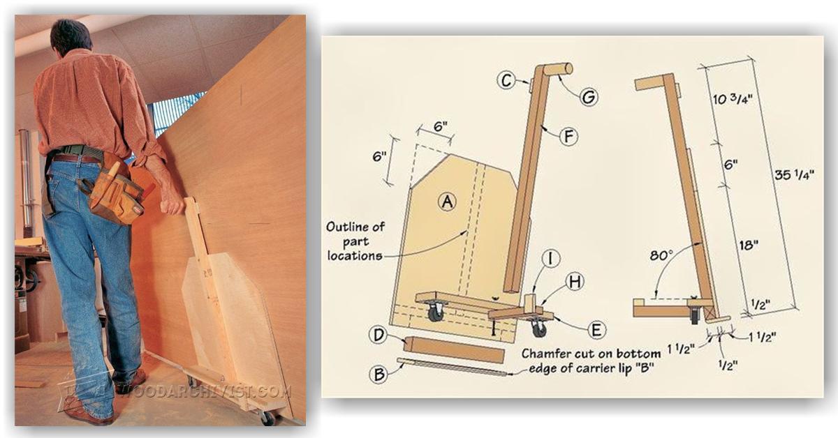 DIY Plywood Cart  WoodArchivist