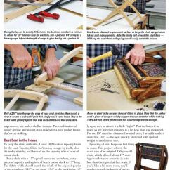 Lounge Chair Patio Santa Hat Covers Civil War Plans • Woodarchivist