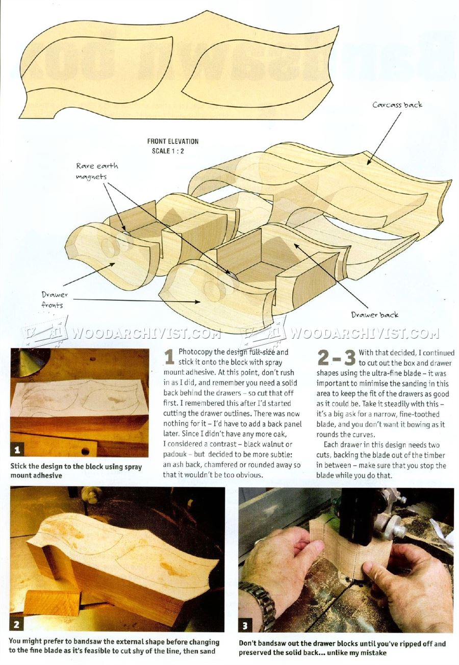 Bandsaw Box Plans