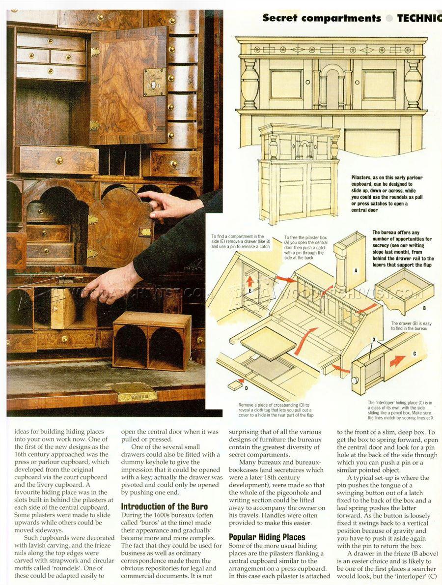 plans to build a sofa bed custom dallas secret compartment furniture • woodarchivist