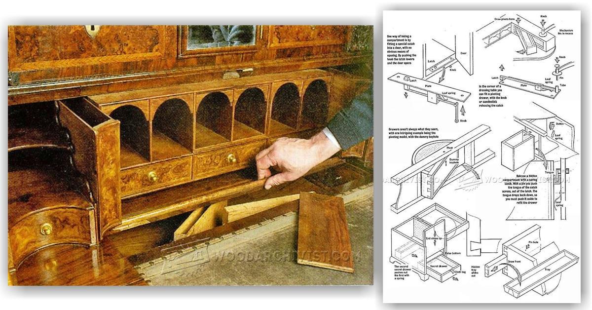 sofa glue band 100 polyester throws secret compartment furniture • woodarchivist