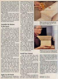 Making Fireplace Mantel  WoodArchivist