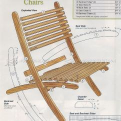 Foldable Chair Plans Pier One Import Chairs Outdoor Folding Woodarchivist