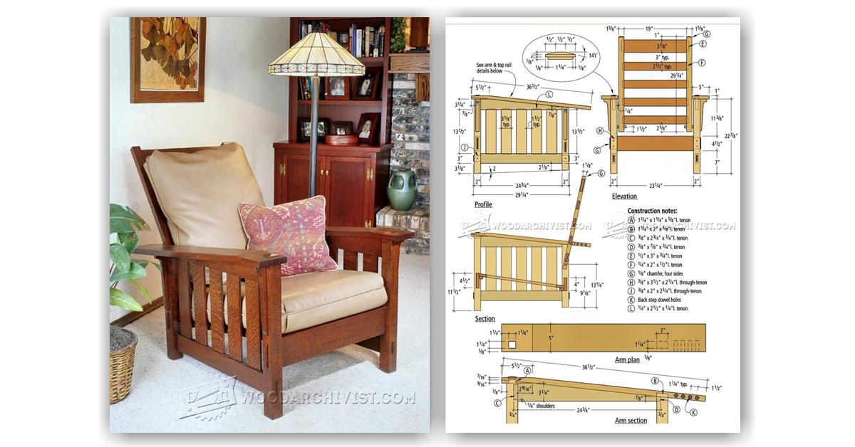wooden corner chair sand chairs for the beach morris plans • woodarchivist
