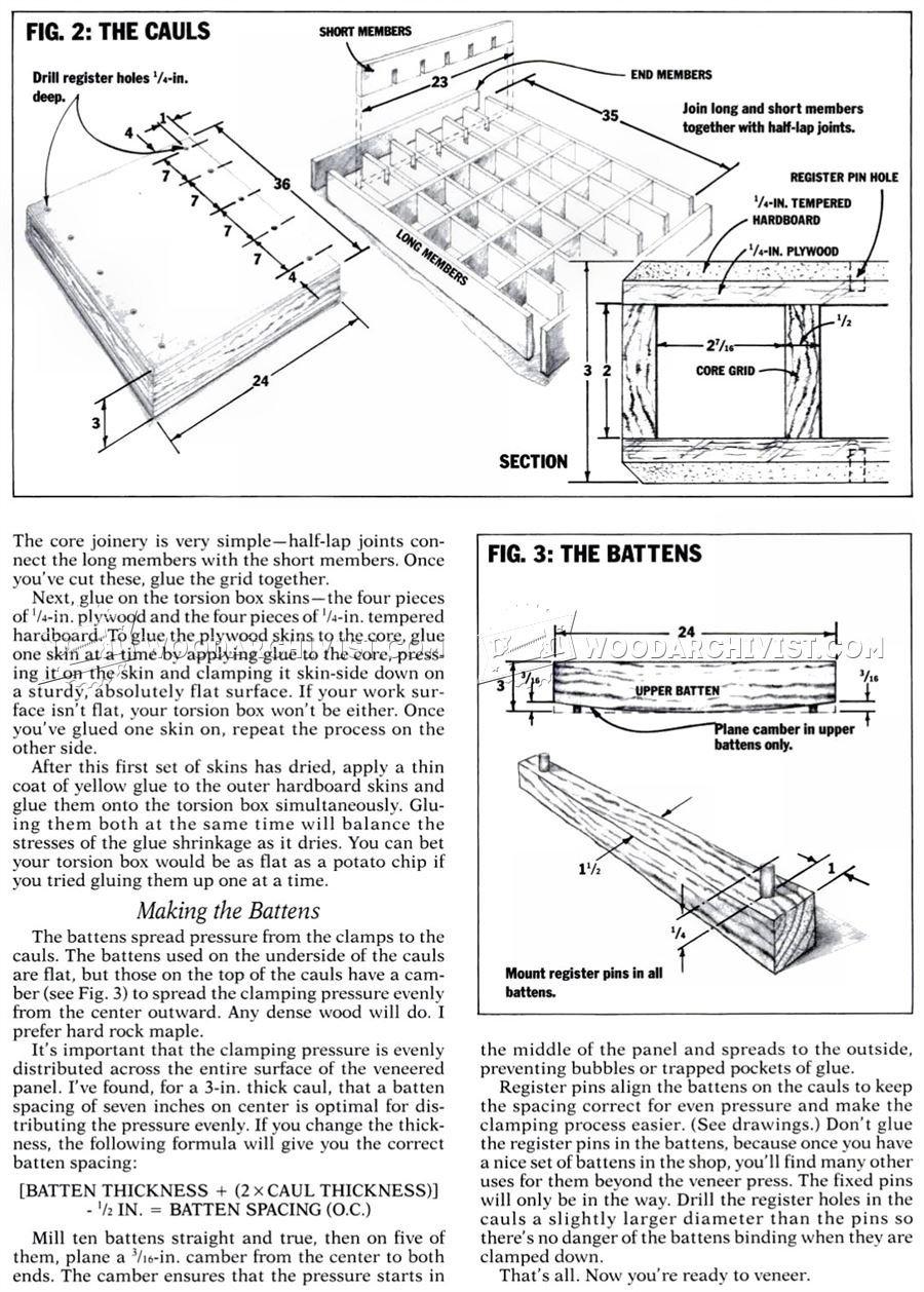 Making Veneer Press • WoodArchivist