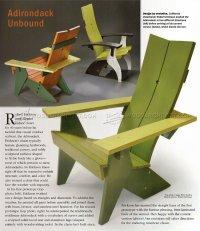 Adirondack Chair Plans  WoodArchivist