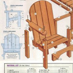 Adirondack Chair Plan Covers Rental Cheap Childrens Plans Woodarchivist