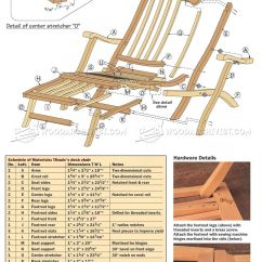 Folding Chair Plans Wood Ace Hardware Adirondack Chairs Titanic Deck • Woodarchivist