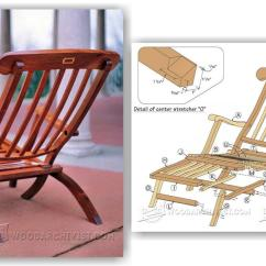 Outdoor Folding Rocking Chair Cheap Slipper Chairs Titanic Deck Plans • Woodarchivist