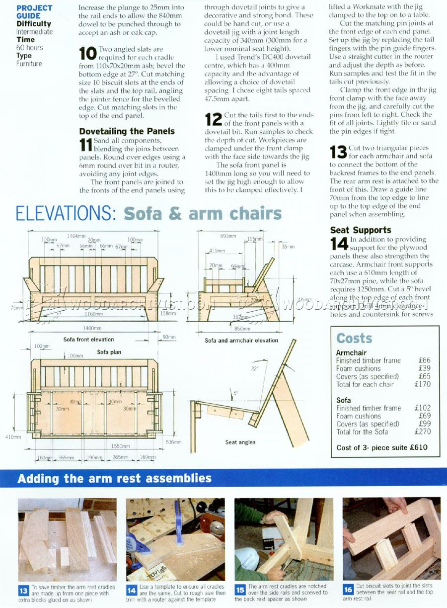 circular sofa chair memory foam kitchen pads and armchair plans • woodarchivist