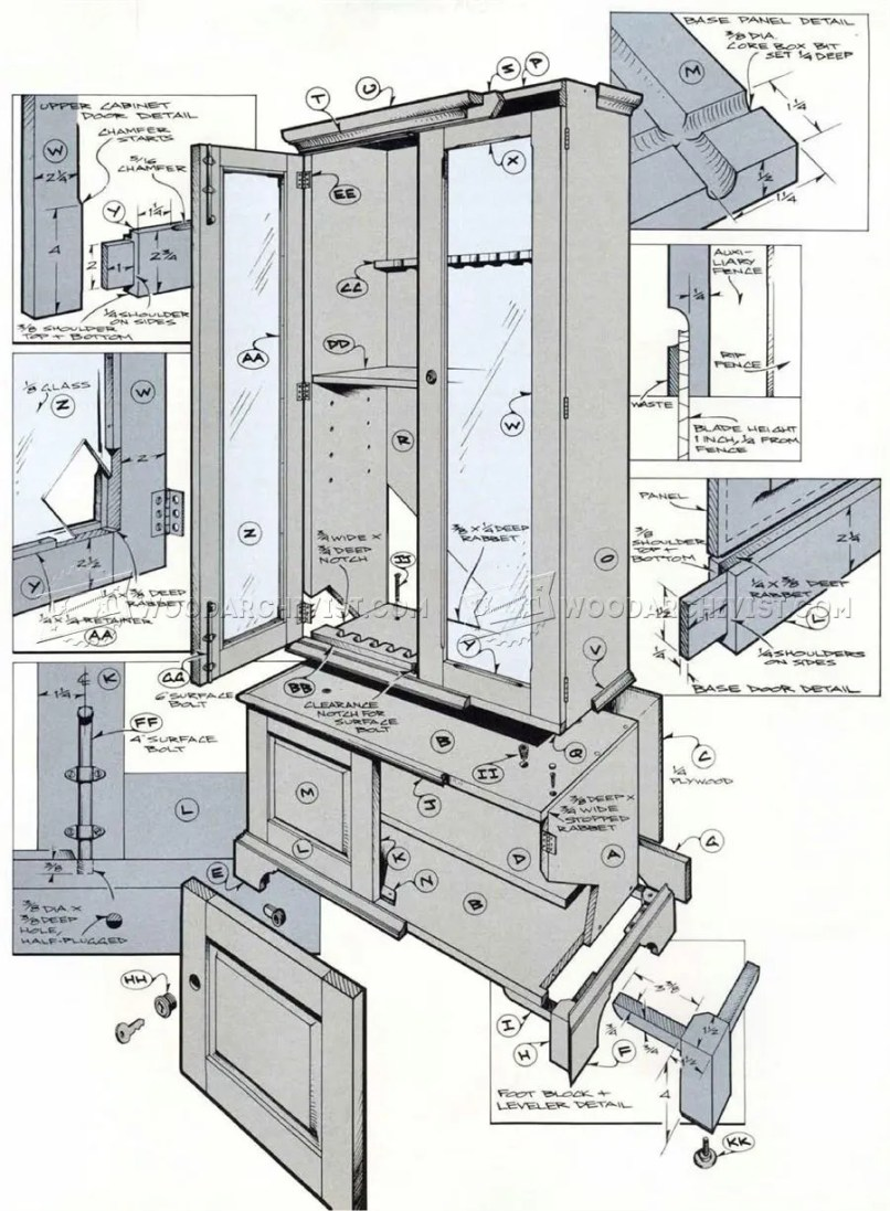 Cabinet Blueprints Pdf | www.resnooze.com