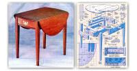 Drop Leaf End Table Plans  WoodArchivist