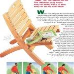 Folding Patio Chair Plans Woodarchivist