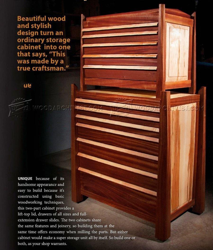 Tool Storage Cabinet Plans  WoodArchivist