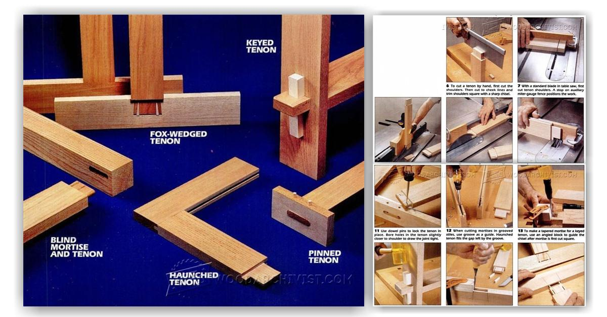 Mortise And Tenon Joints Woodarchivist