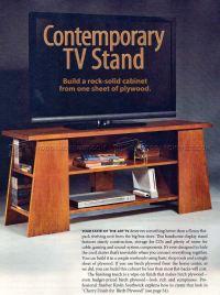 TV Stand Plans  WoodArchivist