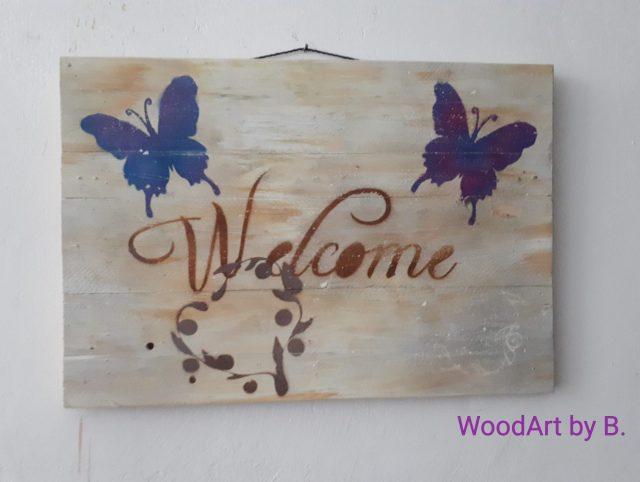 WoodArt by B. Wanddeko_Welcome