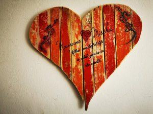 Hochzeit mit Herz
