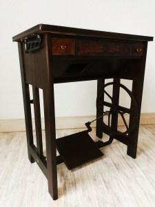 Möbelrestauration Nähmaschine