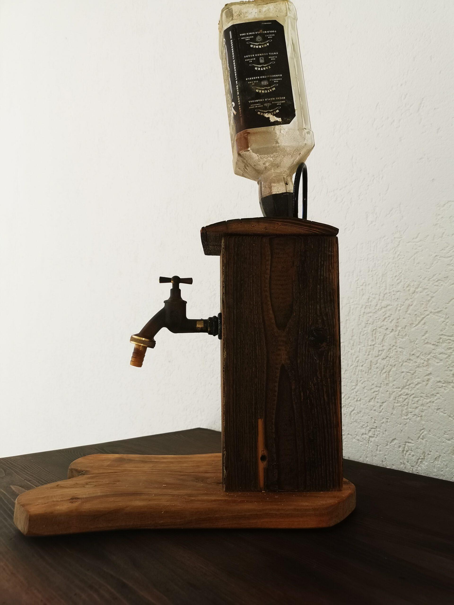 Whisky-Spender mit persönlicher Inschrift.