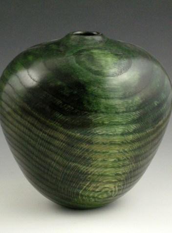 Oval Green Vessel