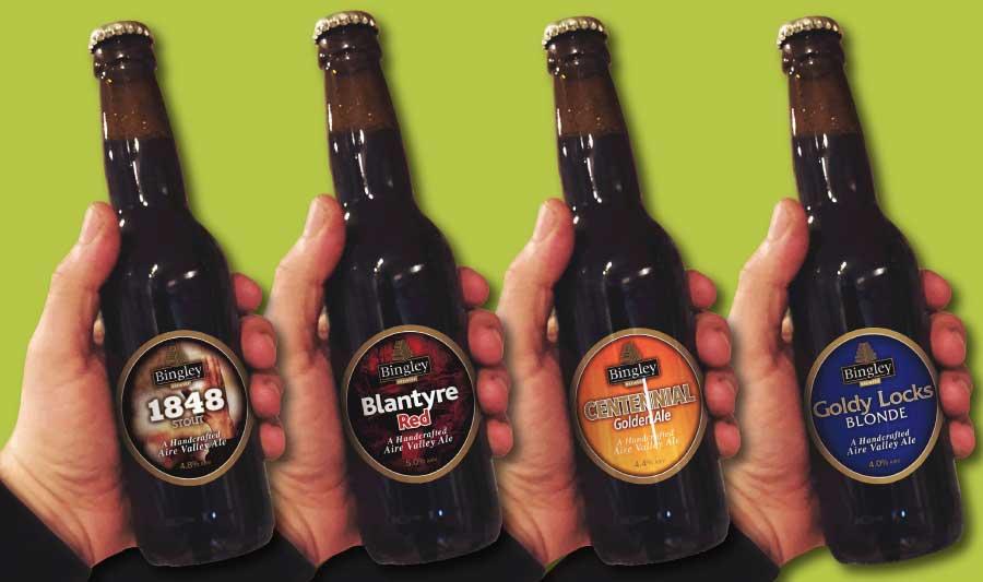Bingley Brewery Bottled Beer